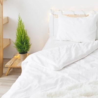 Fundas de almohada con tejido popelin