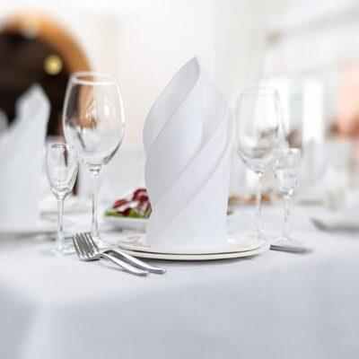 Manteleria para restaurante